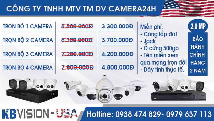 bang gia tron bo 1 2 3 4 camera kbvision 2.0mp