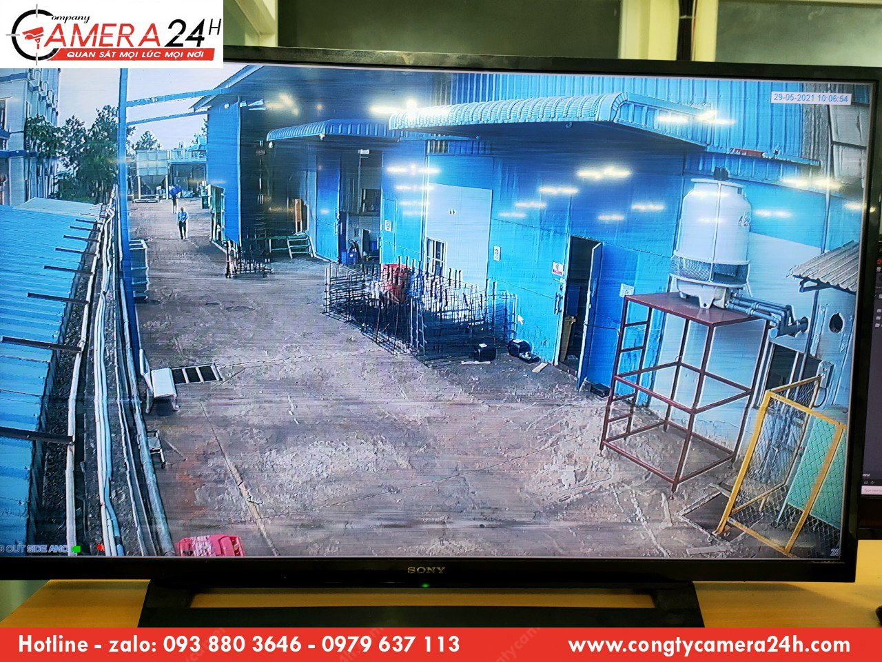 Thi công, lắp đặt hệ thống camera phù hợp cho nhà xưởng