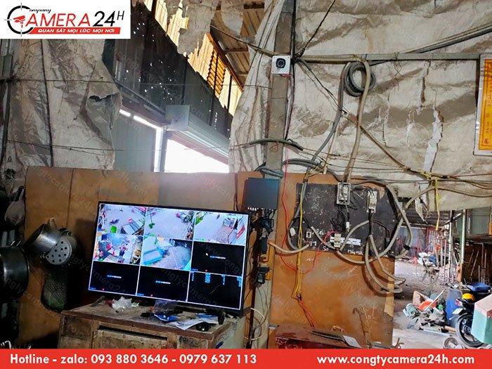 Hoàn thiện hệ thống camera giám sát dành cho nhà xưởng